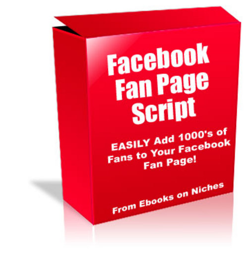 Facebook Fan Page Script - with PLR+2 Mystery BONUSES!