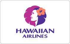 Hawaiian airlines gift card 200$