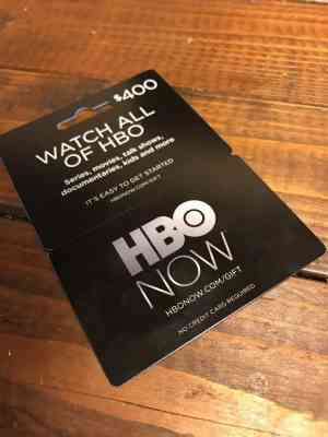HBONOW GIFT CARD 30$