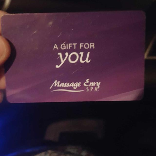 MassageEnvy  Gift Card $100 one card