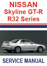GTR 32 HNR32 HCR32 Engine Service Manual PDF