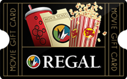 $20 Regal Cinemas - with pin - use online and store