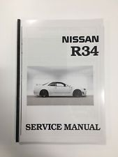 Nissan Skyline Service Manual R34 PDF