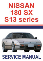 Nissan 180SX S13 Workshop Repair Manual PDF