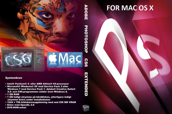 Adobe – Adobe Photoshop CS6 Extended MAC OS OFFICIAL