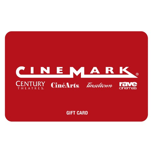 Cinemark Gift Card $30