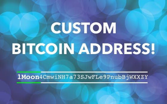 How To Create A Custom Bitcoin Address