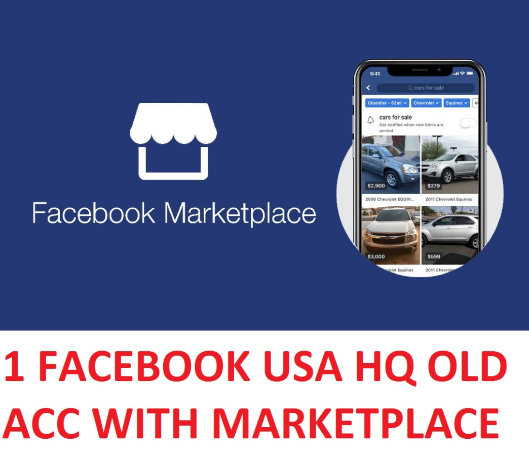 1 FACEBOOK H.Q. USA OLD ACCOUNT WITH MARKETPLACE ACTIVE