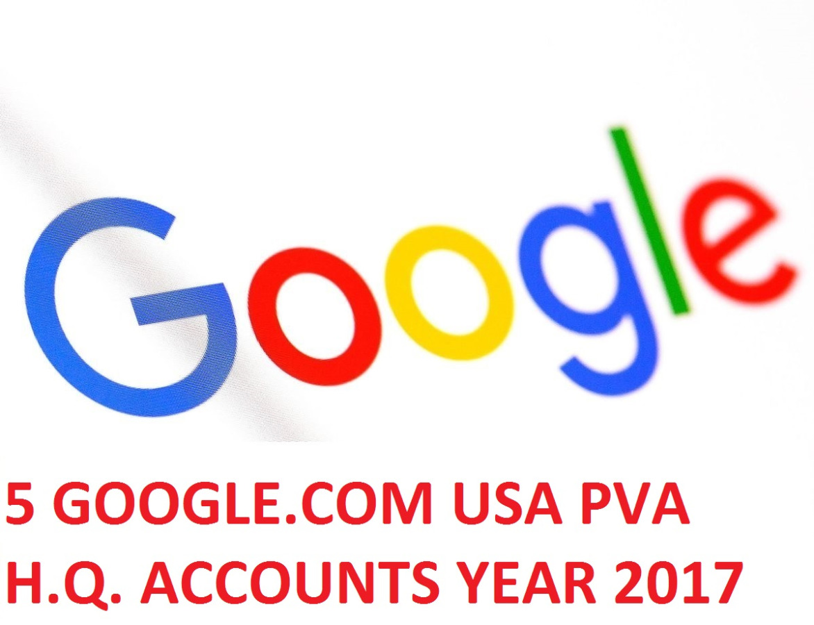 5 GOOGLE.COM USA PVA H.Q. YEAR 2017