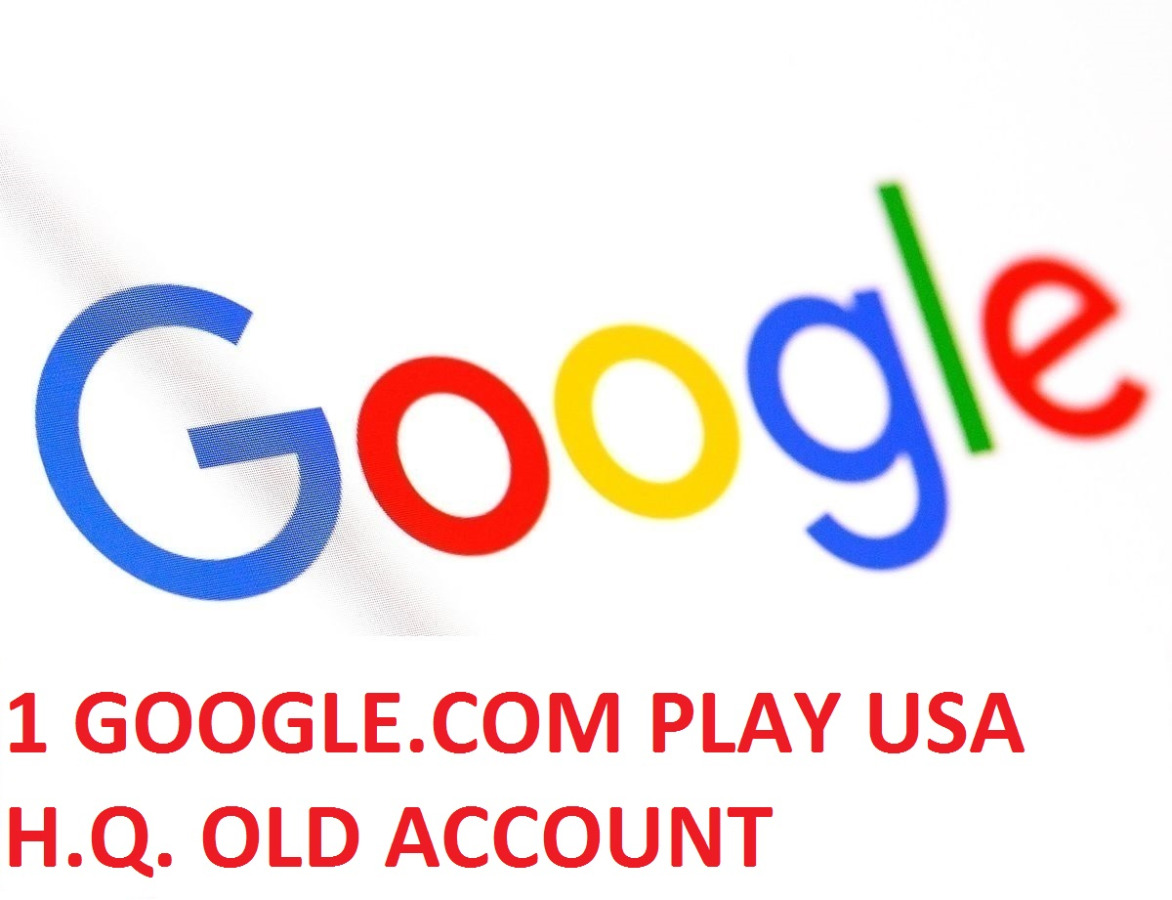 1 GOOGLE PLAY USA H.Q. OLD ACCOUNT