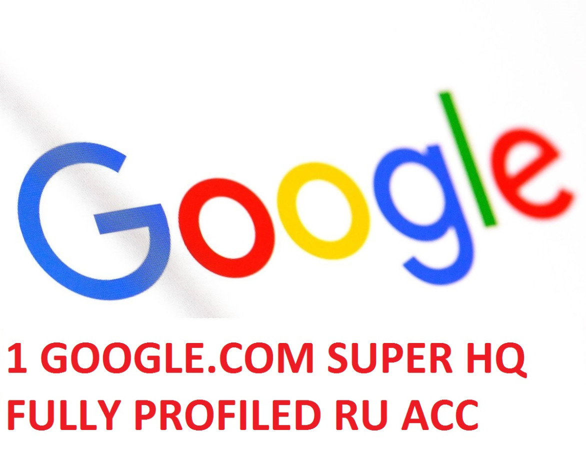 1 GOOGLE.COM SUPER HIGH QUALITY RUSSIAN ACCOUNT