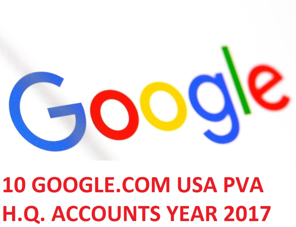 10 GOOGLE.COM USA PVA H.Q. YEAR 2017