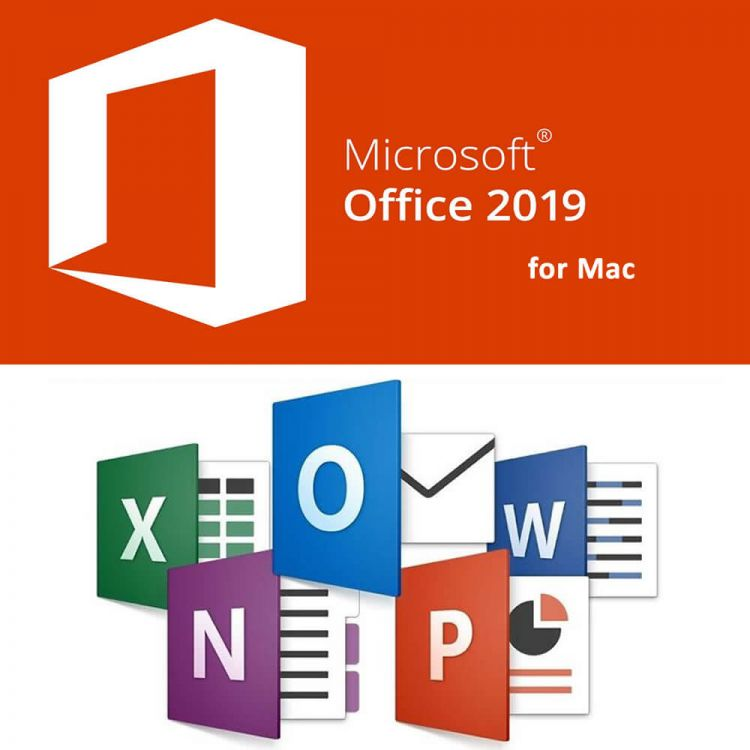 Microsoft Office 2019 for Mac (Never Expired)