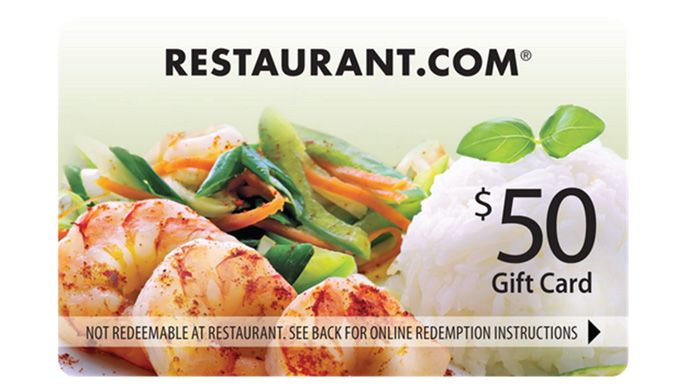 $100 Restaurant.com egift codes
