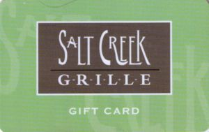 Salt Creek Grille Gift Cards 100$