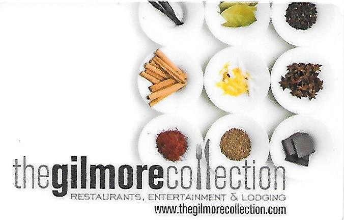Gilmore Collection Hotel and Restaurant  $100 Gift Card