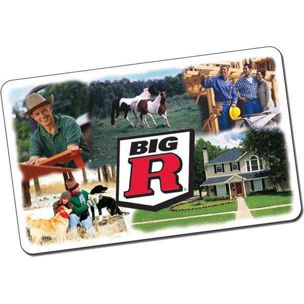 Big R (Clothes, Tools, Gear) - $100 Gift Card