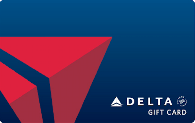 $1000 Delta Gift Card (NO CANCEL)