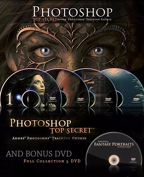 Photoshop Top Secret DvD Collection