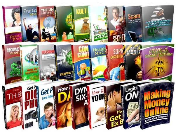 More than 6,000,000 Items, 5500 Mrr Ebooks and Bonuses