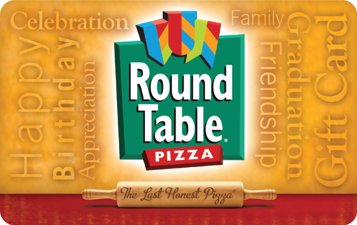 The Round Table Pizza $50.00