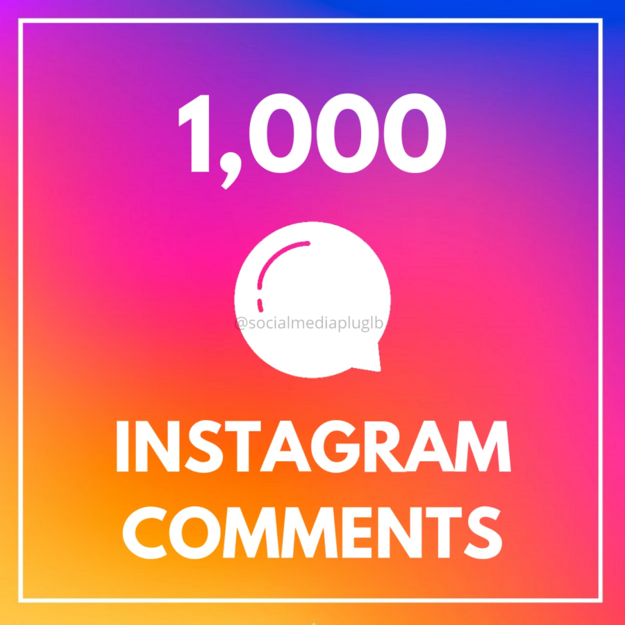 1000 Instagram Custom Comments (HQ)