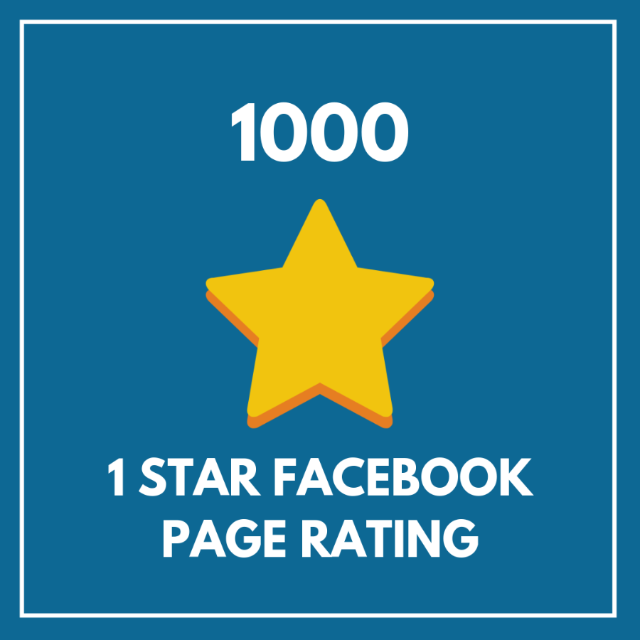 1000 1 Star Facebook Page Rating