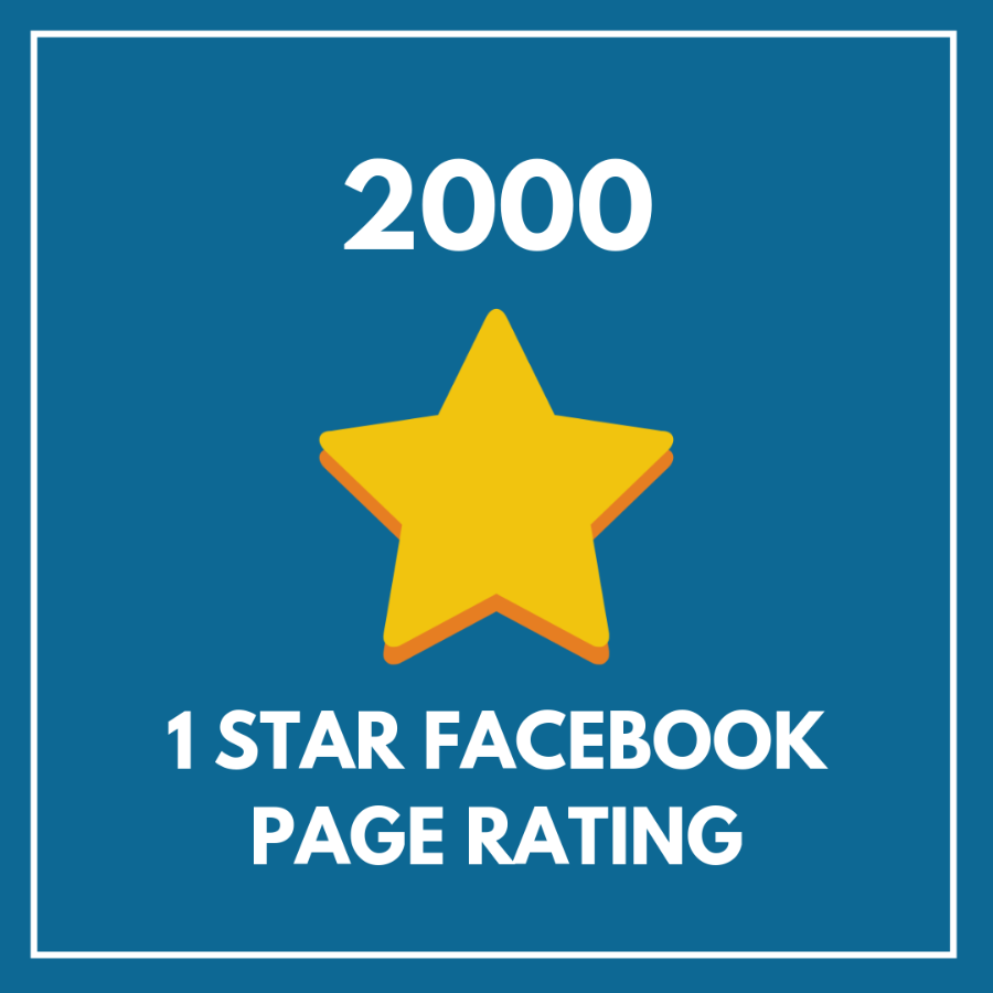 2000 1 Star Facebook Page Rating