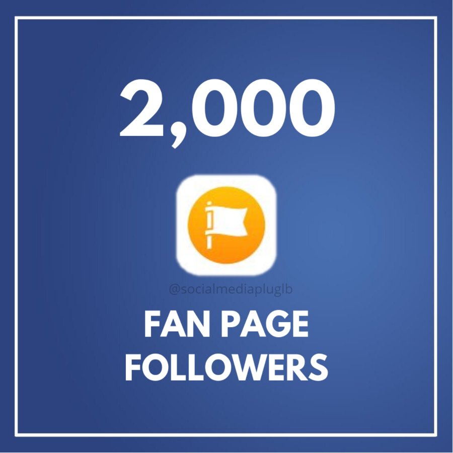 2000 Facebook Fan Page Followers (HQ)