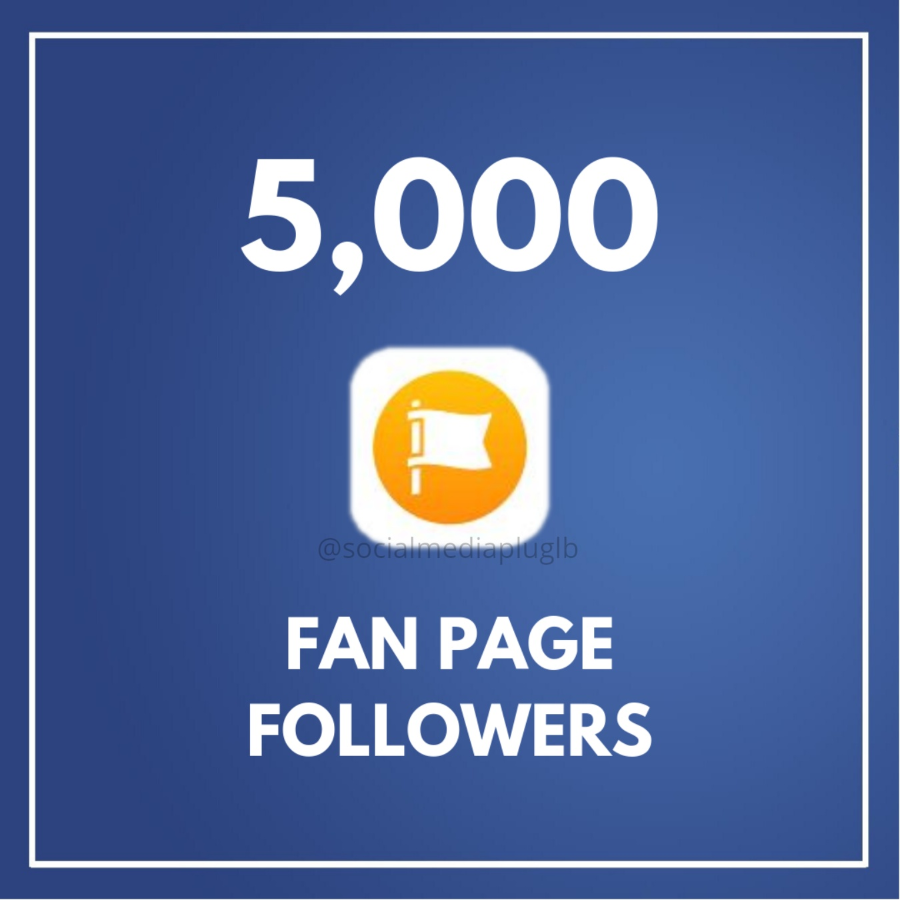 5000 Facebook Fan Page Followers (HQ)