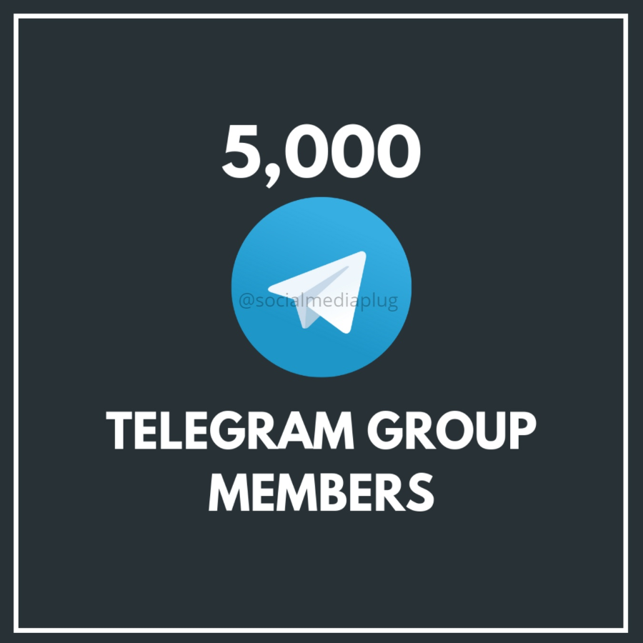 5000 Telegram Group Members