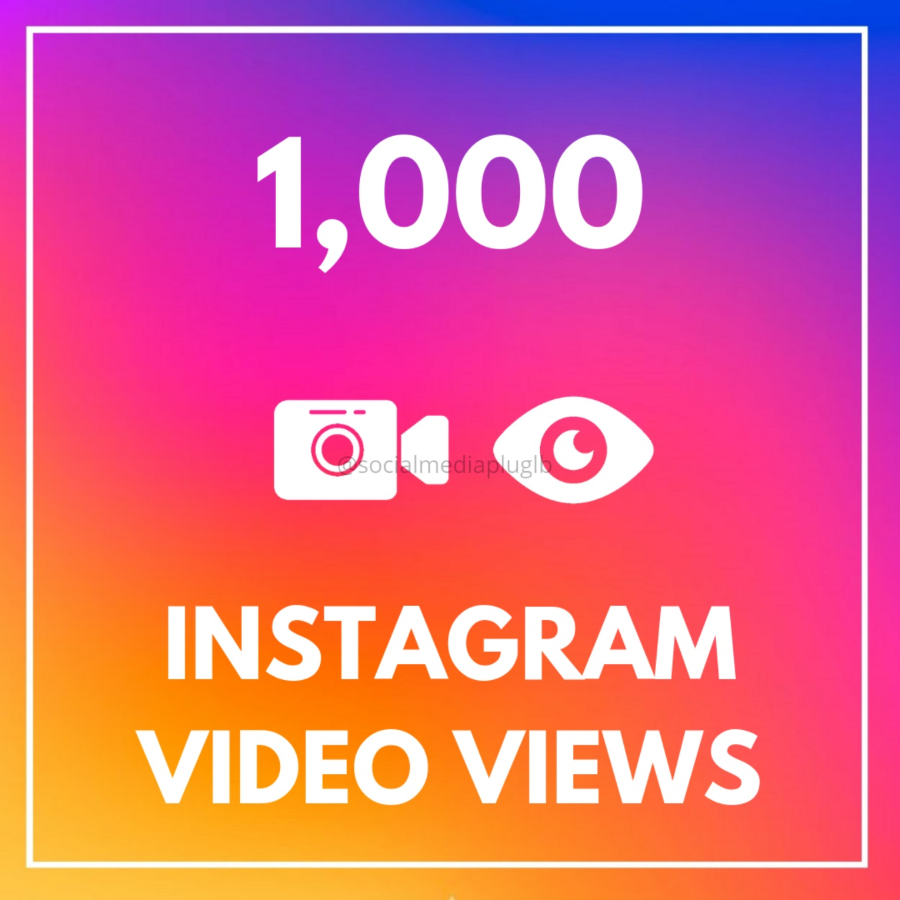 1000 Instagram Video Views (HQ)