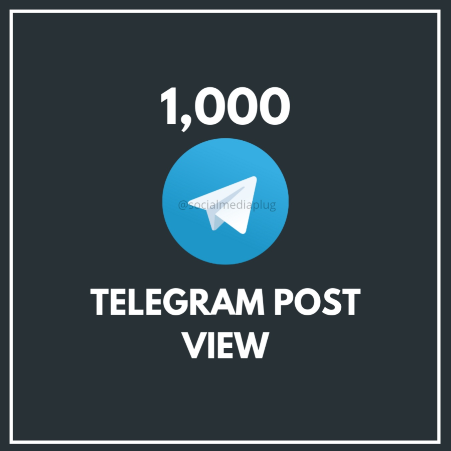 1000 Telegram Post Views