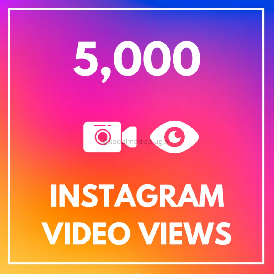 5000 Instagram Video Views (HQ)