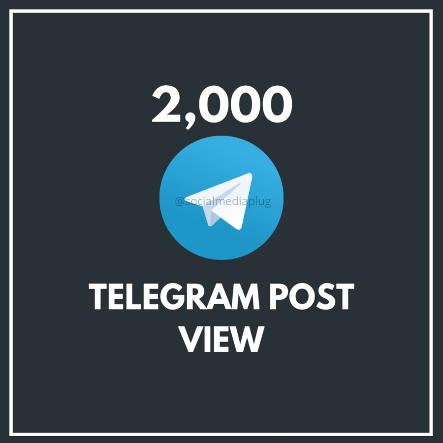 2000 Telegram Post Views