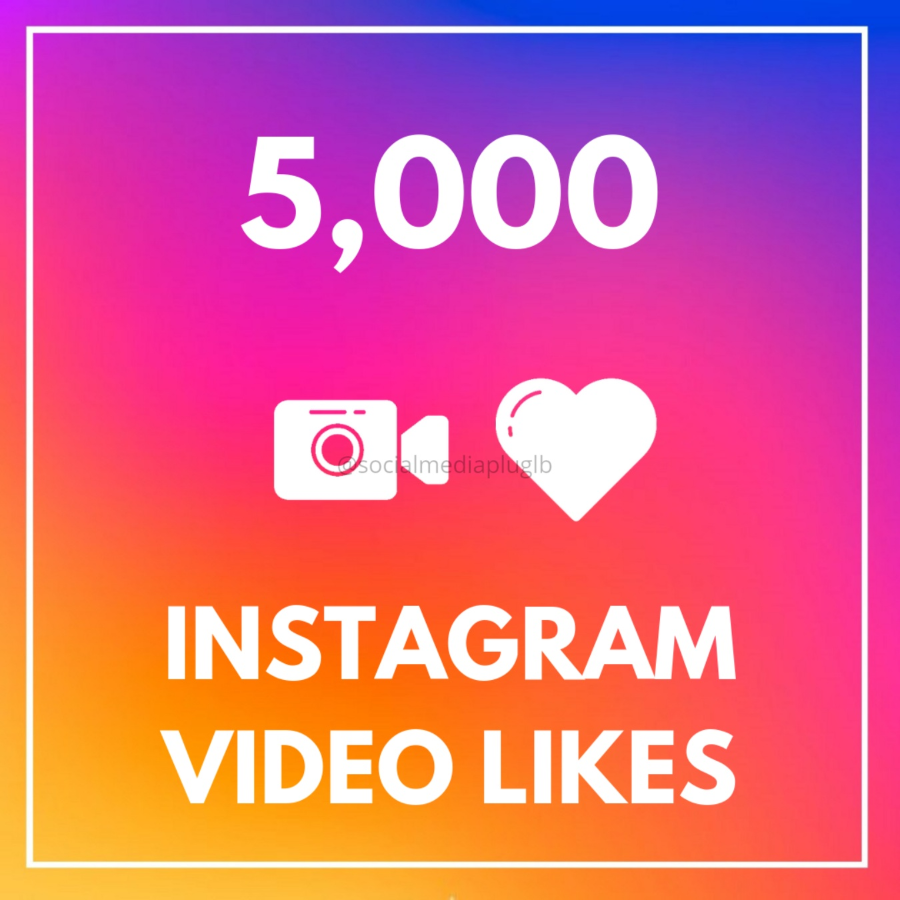 5000 Instagram Video Likes (HQ)
