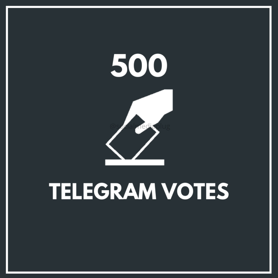 500 Telegram Votes (Exclusive)