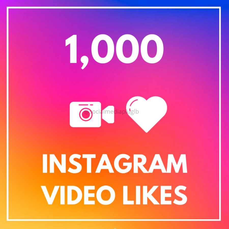 1000 Instagram Video Likes (HQ)