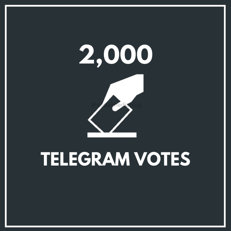 2000 Telegram Votes (Exclusive)