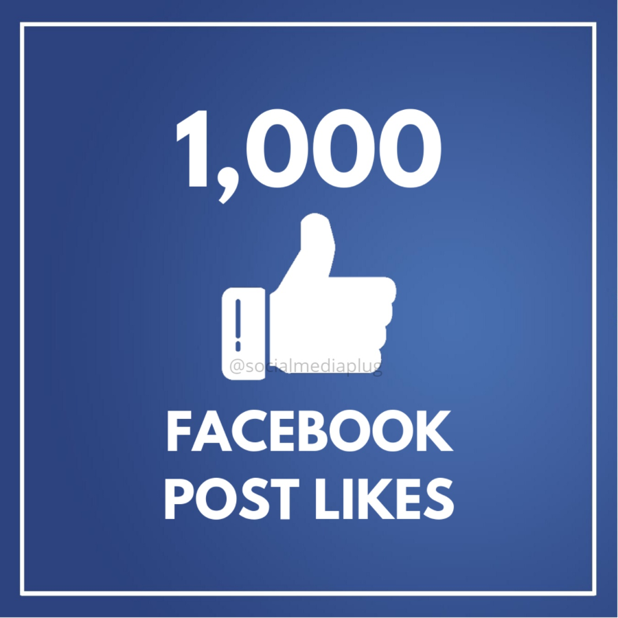 1000 Facebook Post Likes (HQ)
