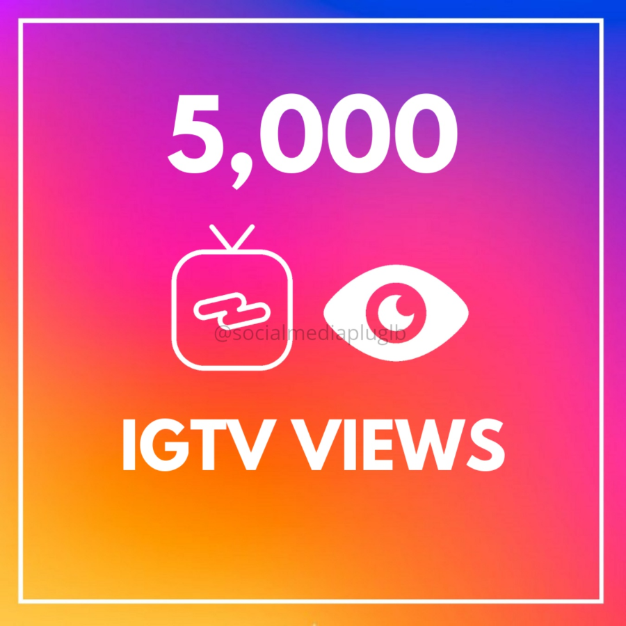 5000 IGTV Views (HQ)