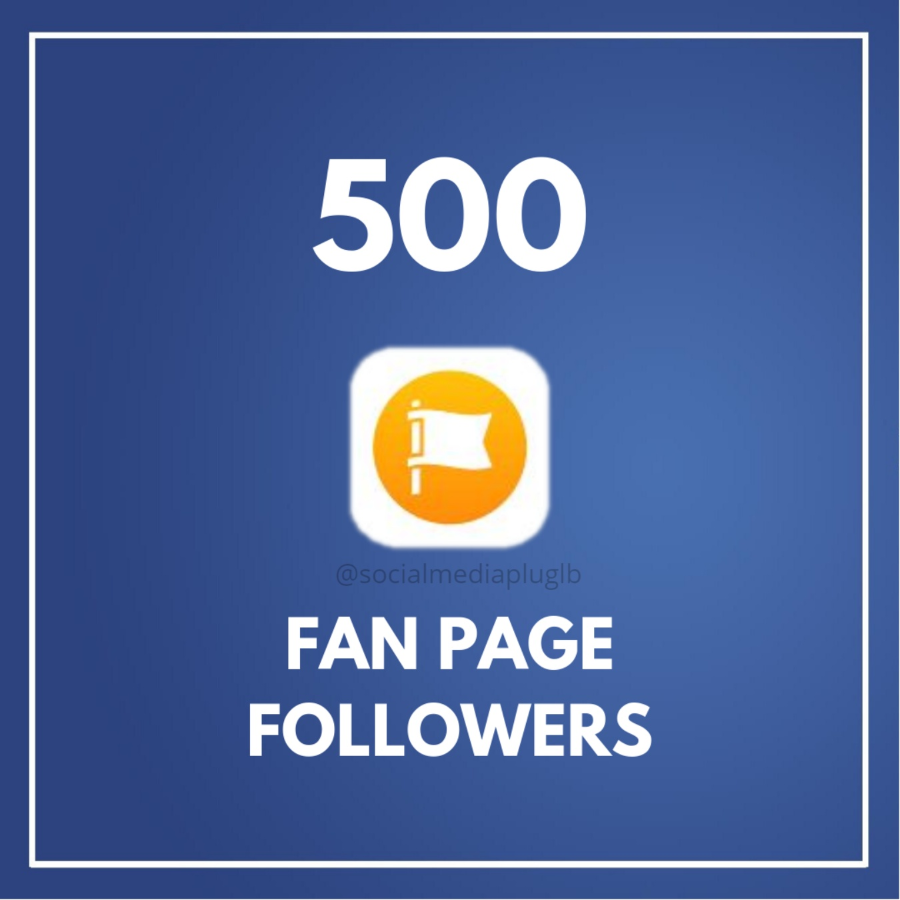 500 Facebook Fan Page Followers (HQ)