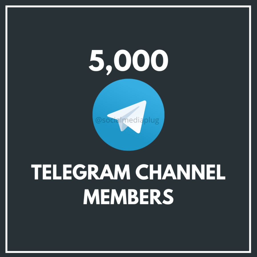 5000 Telegram Channel Members