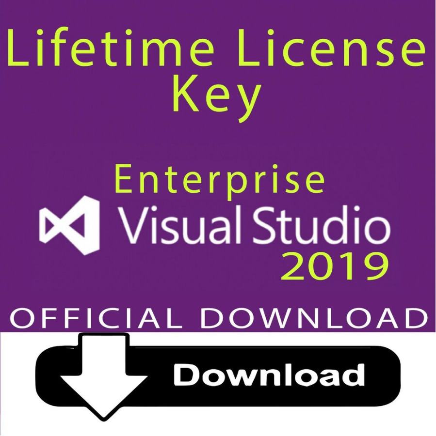 Visual Studio 2019 Enterprise Key and Official Download