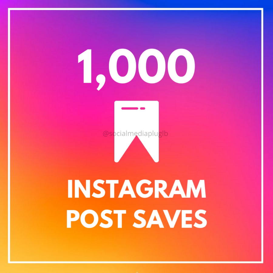 1000 Instagram Saves (HQ)