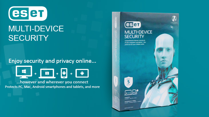ESET Multi Device Security 1year (4 users)
