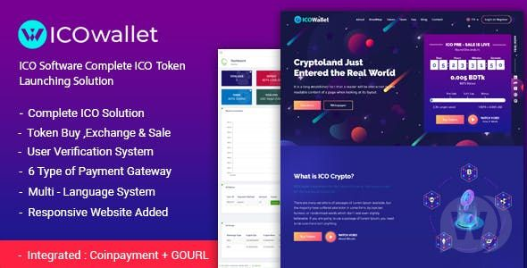 ICOWallet v1.2 - ICO script to run tokens