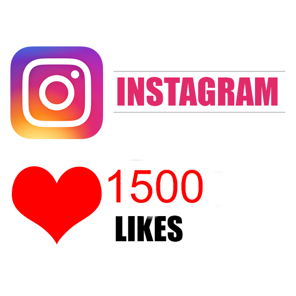 1500 instagram post likes (for 3 post instagram)