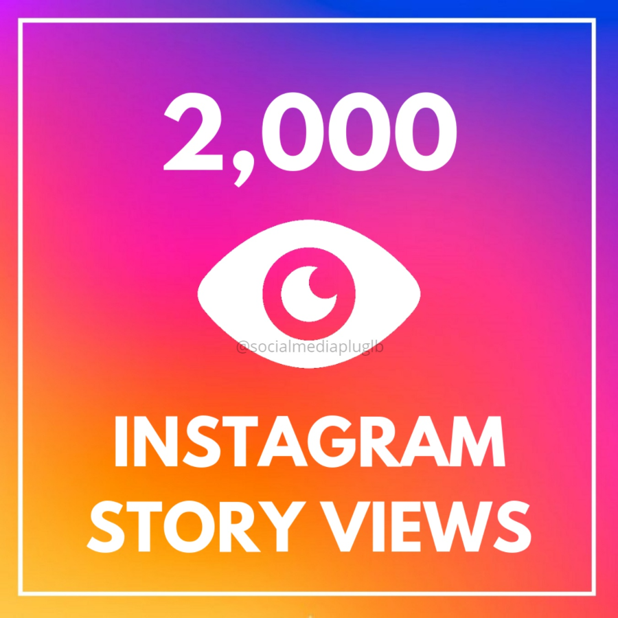 2000 Instagram Story Views (HQ)