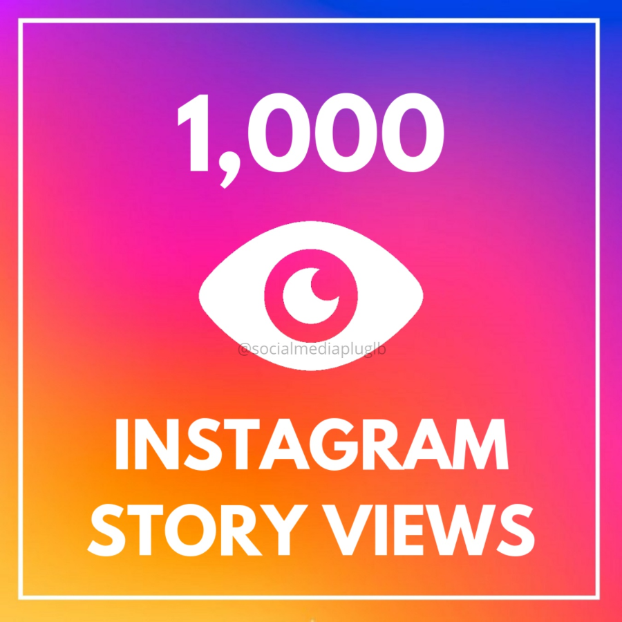 1000 Instagram Story Views (HQ)